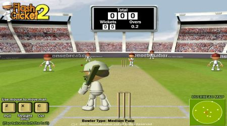 Screenshot - Flash Cricket 2